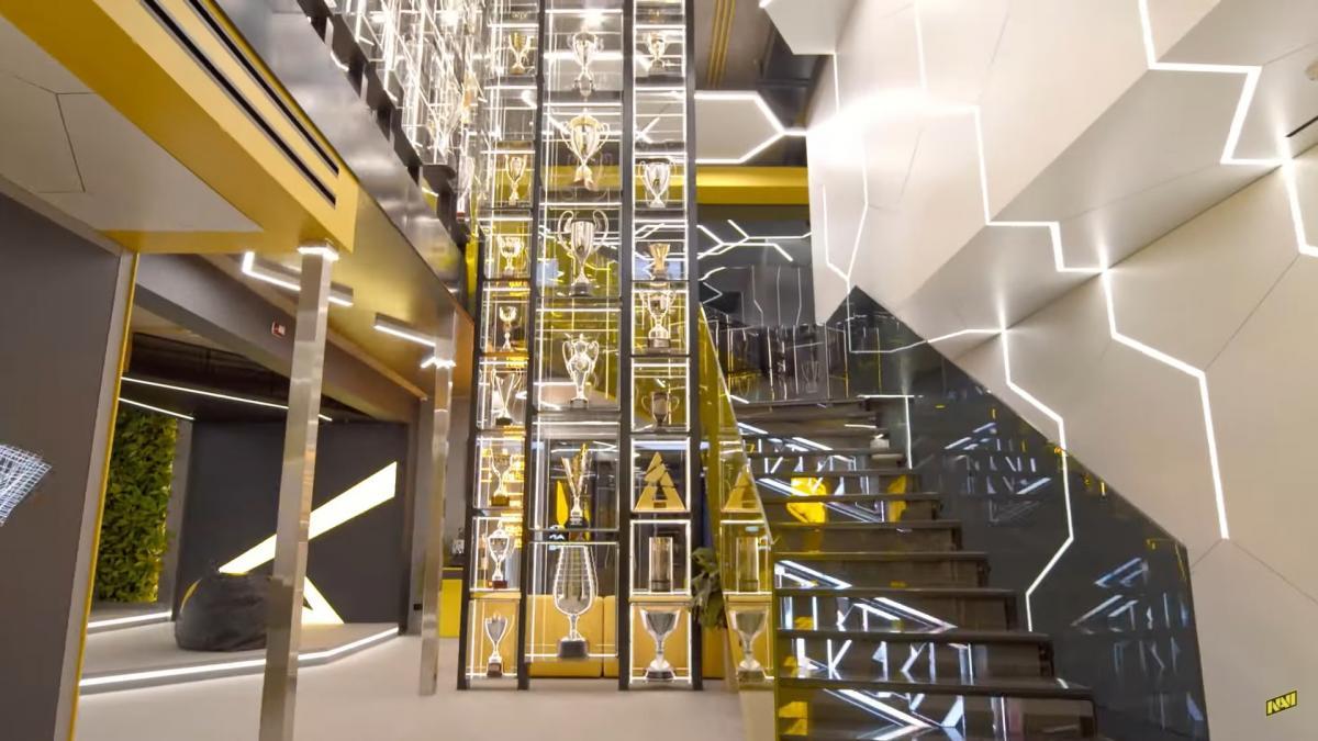 Новая штаб-квартира NAVI в Киеве /скриншот