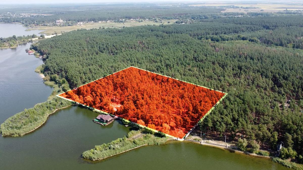 Три гектари елітної землі з виходом на воду / скріншот