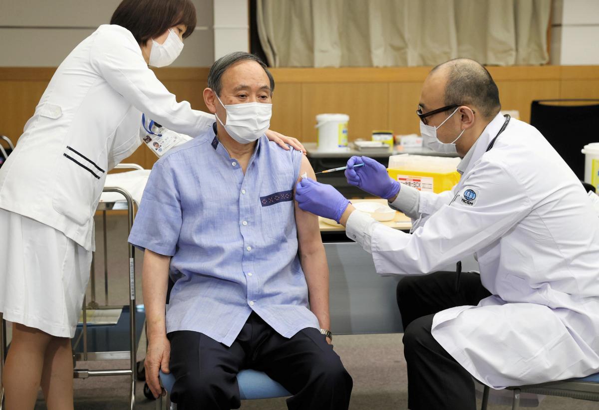 В Японии умерло три человека после вакцинации Moderna/ фото REUTERS