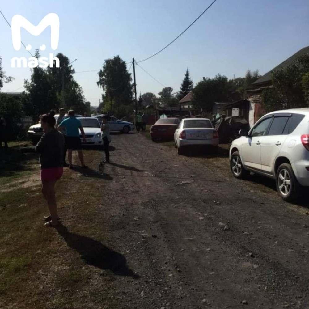 Тіла дівчаток знайшли в покинутому будинку / фото t.me/breakingmash