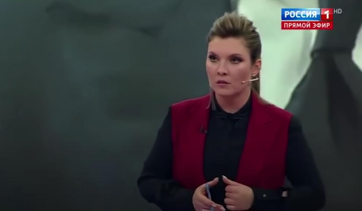 Skabeeva has a new hysteria over Ukraine / screenshot