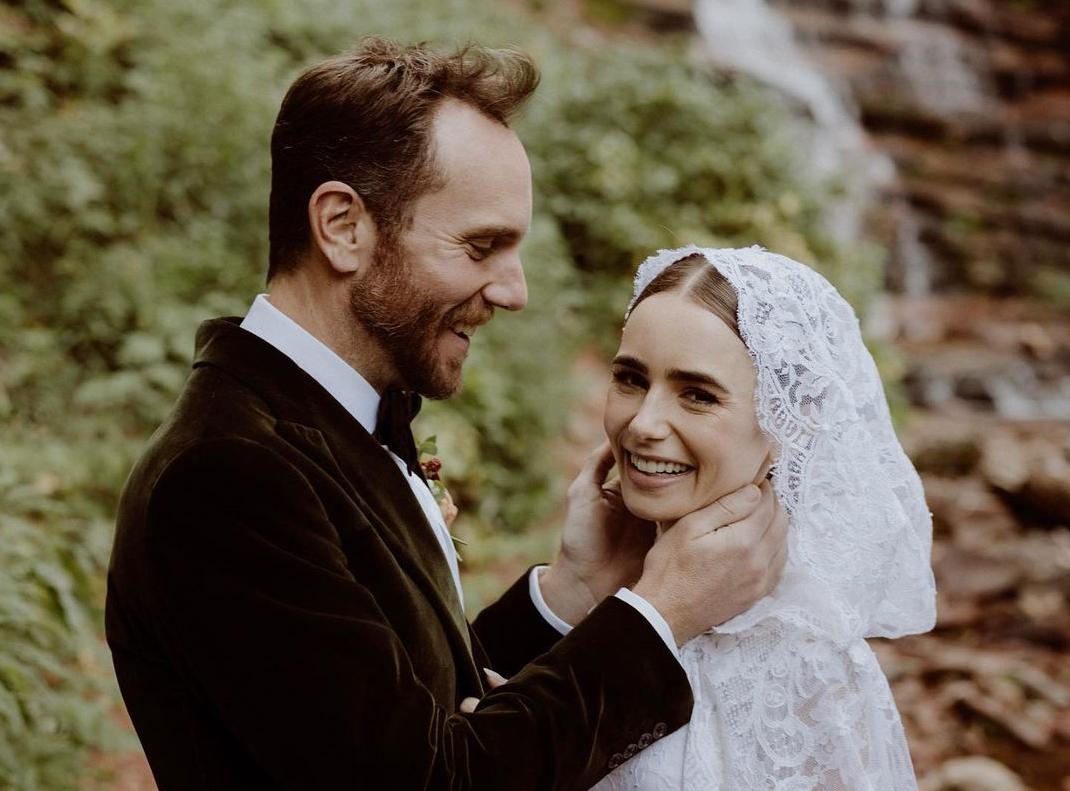Лили Коллинз вышла замуж / instagram.com/lilyjcollins