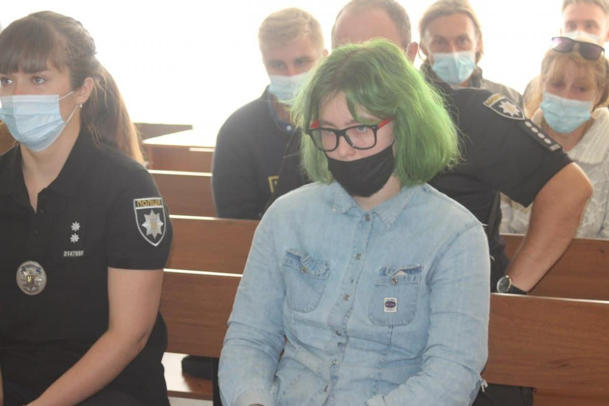 Студентка рассказала о своем поступке / фото: Анна Волкова, УНИАН