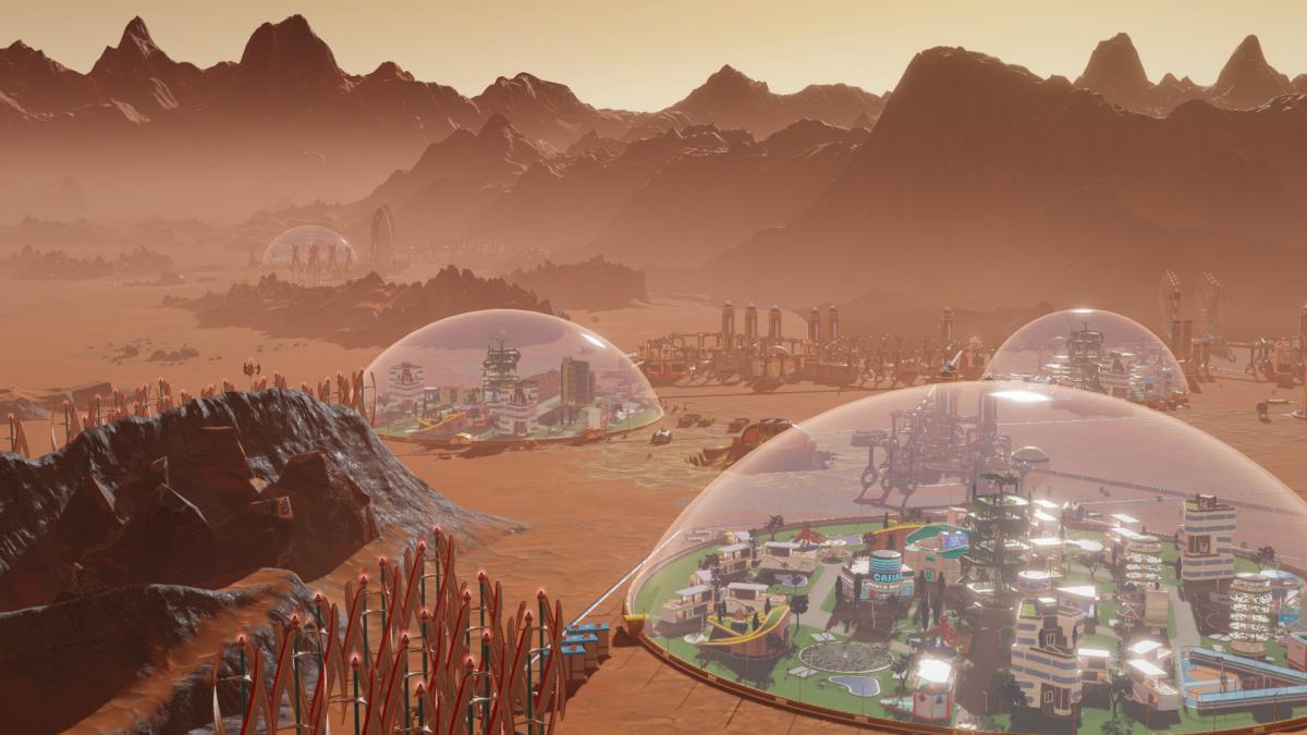 Surviving Mars / фото Paradox Interactive