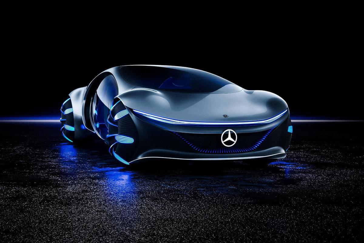 Новий Vision AVTR від Mercedes-Benz виглядає вражаюче /фотоMercedes-Benz