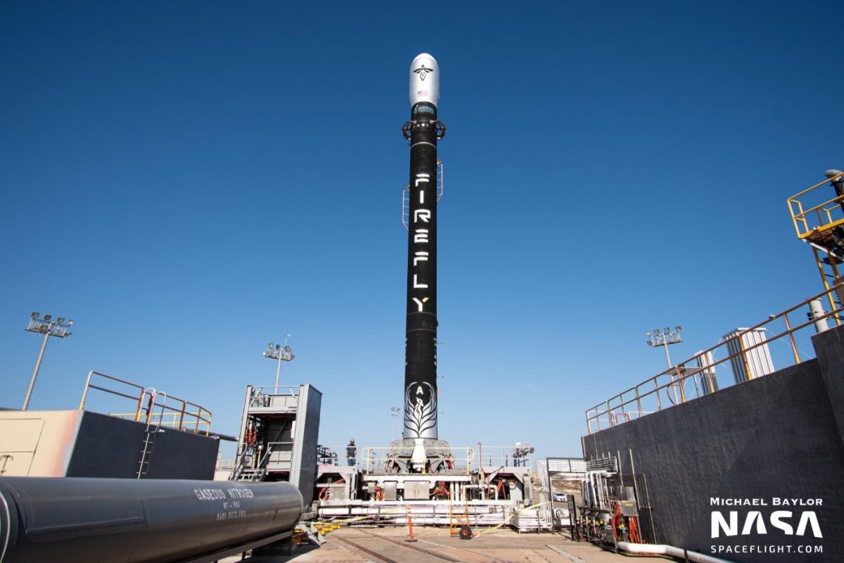 Після аварії у системі ракети її підірвали у небі / NASA