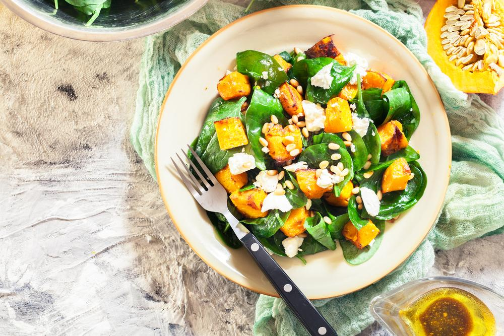 Салат з гарбузом і фетою рецепт / фото ua.depositphotos.com