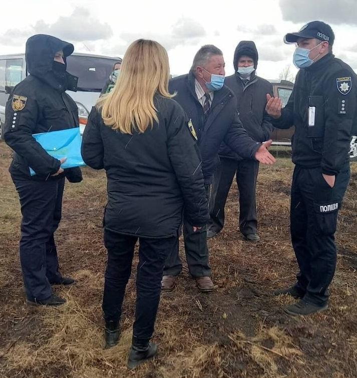 У поліції відкрили кримінальну справу / фото Наталії Ониськів