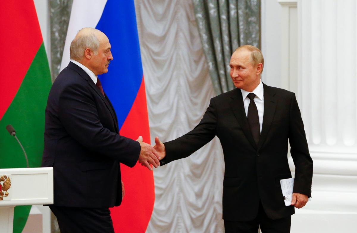 Олександр Лукашенко і Володимир Путін зустрілися в Москві / фото REUTERS