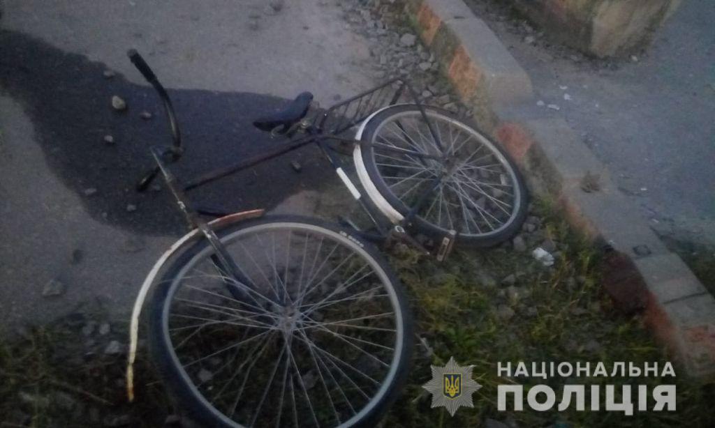 Хлопець їхав на велосипеді/ фото НПУ