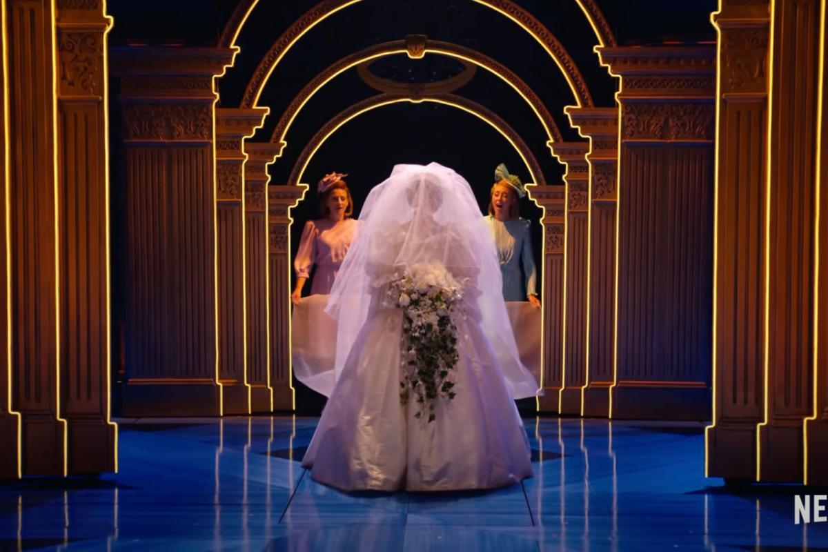 Роль принцессы Дианы в новом мюзикле Netflix исполнит Дженна де Ваал / скриншот