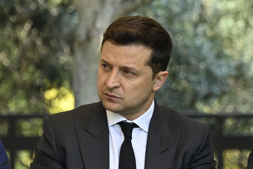 Об этом сообщил президент Украины Владимир Зеленский в речи во время саммита Украина-Евросоюз / фото president.gov.ua