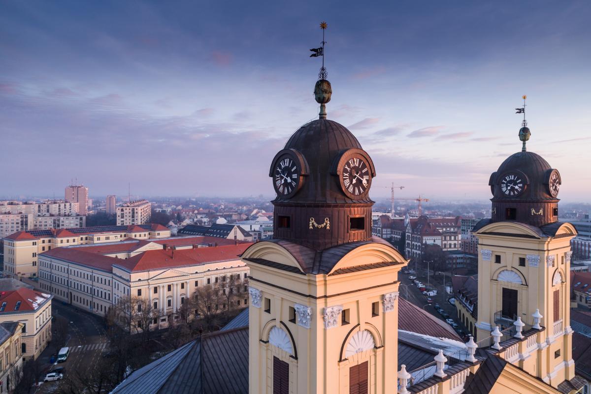 Теперь из Киева можно будет полететь в венгерский Дебрецен / фото ua.depositphotos.com