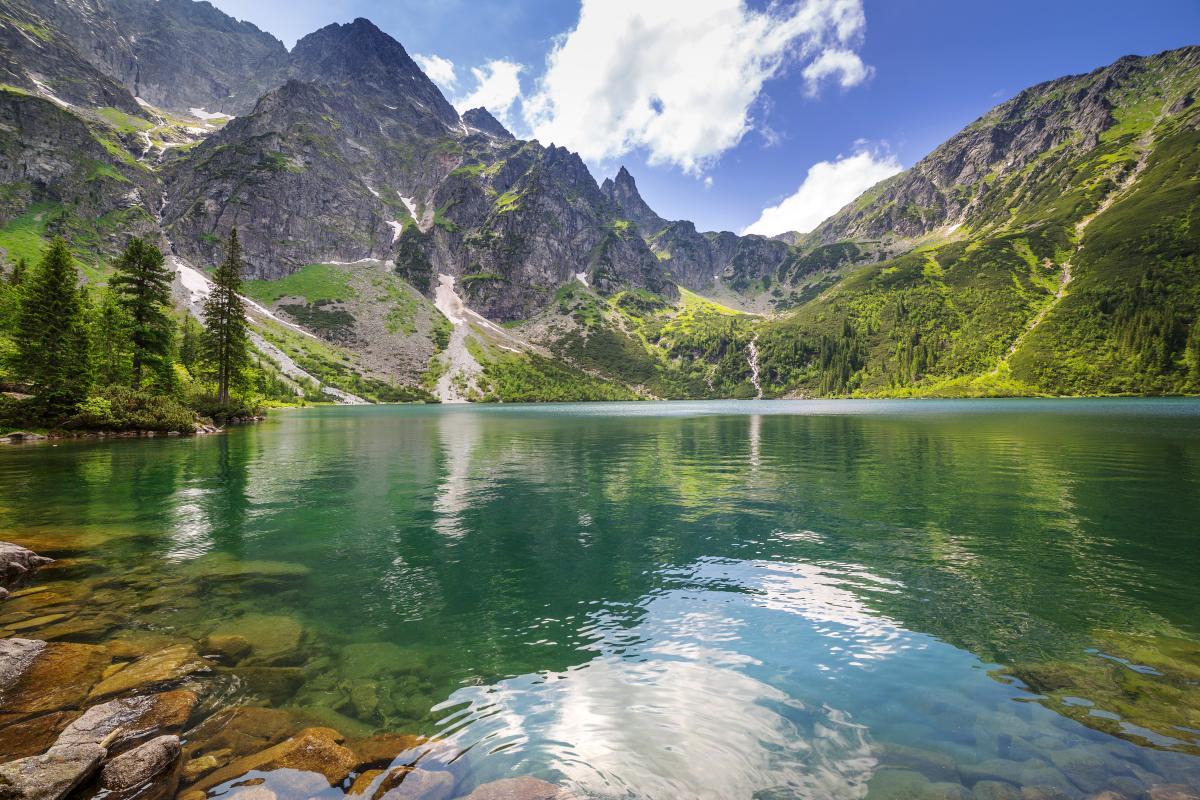Морское око в Татрах / фото ua.depositphotos.com