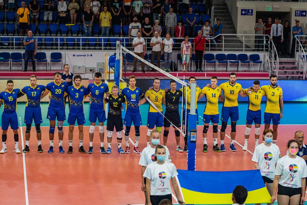 Збірна України з волейболу / фото facebook.com/fvu.in.ua