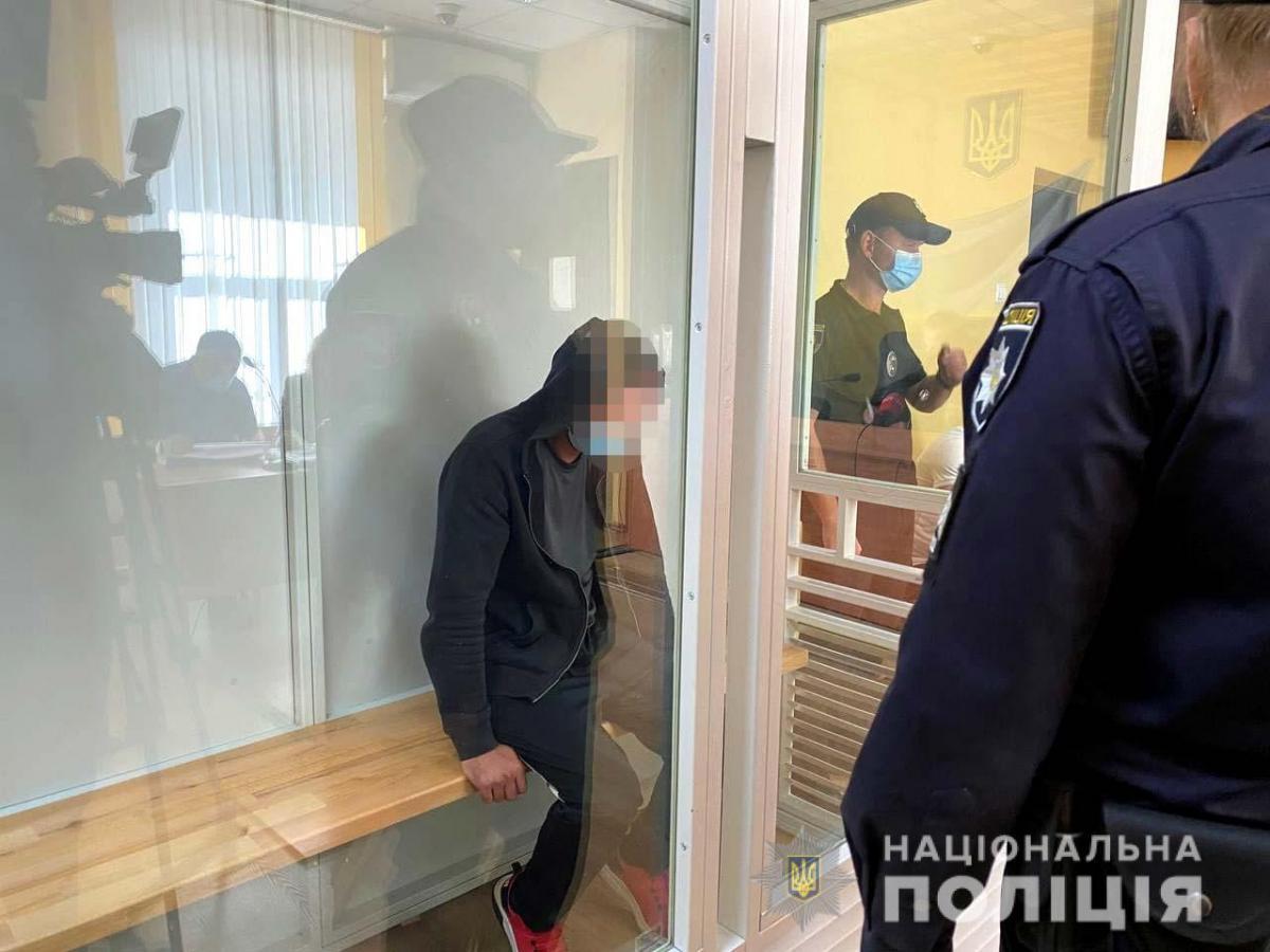 Подозреваемого арестовали на два месяца / фото: Нацполиция