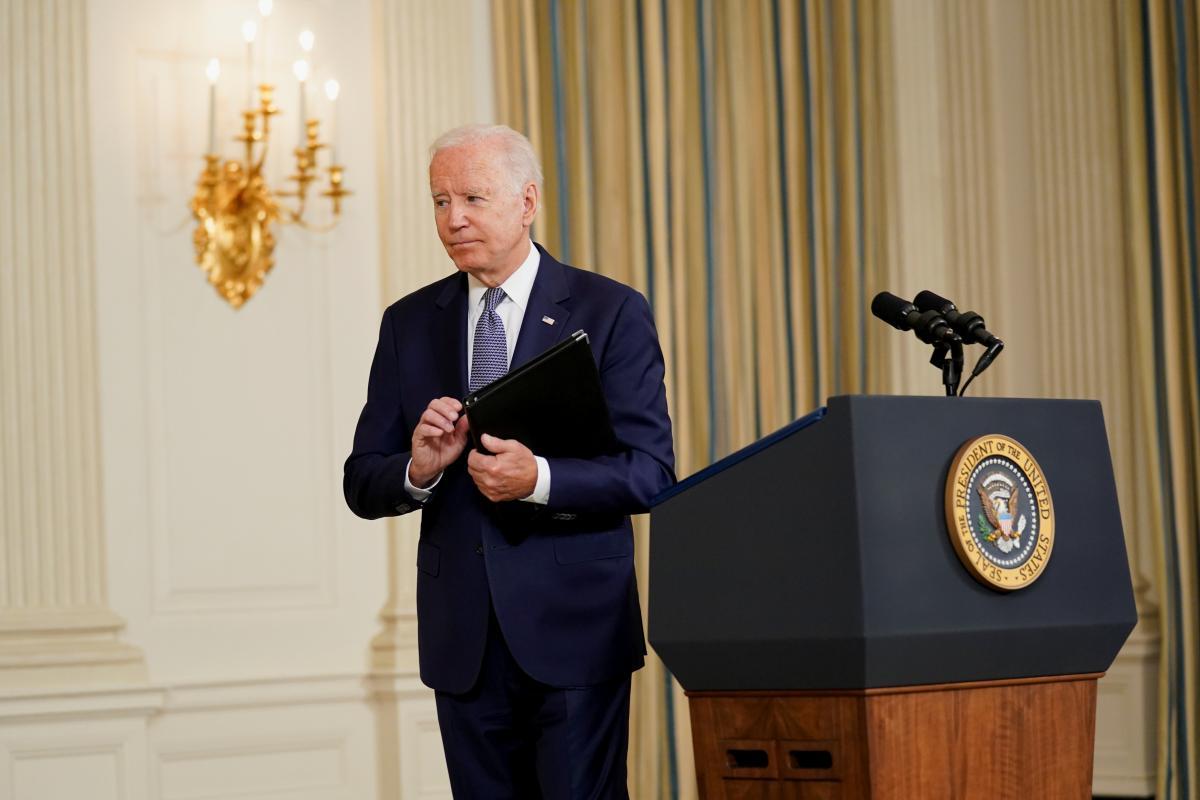 Байден записав відеозвернення до 20-ї річниці терактів у США 11 вересня / фото REUTERS
