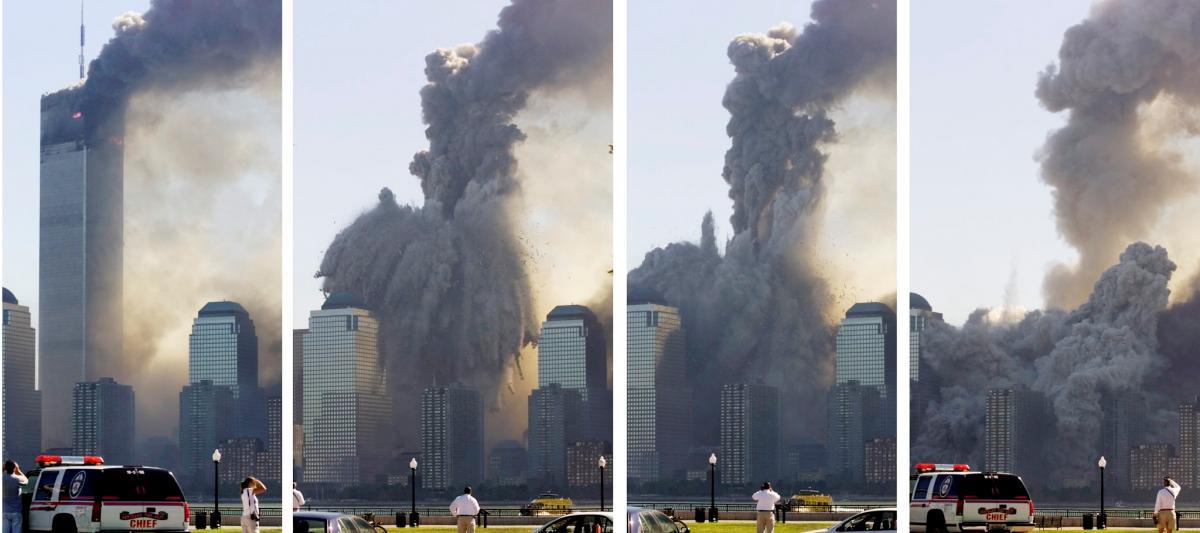 Разрушение башен-близнецов в Нью-Йорке / фото REUTERS