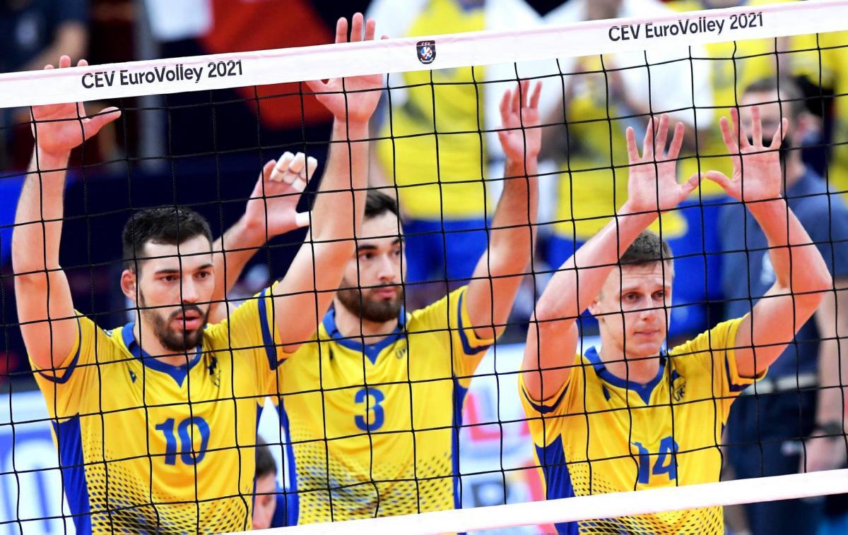 Гравці збірної України / фото Федерація волейболу України