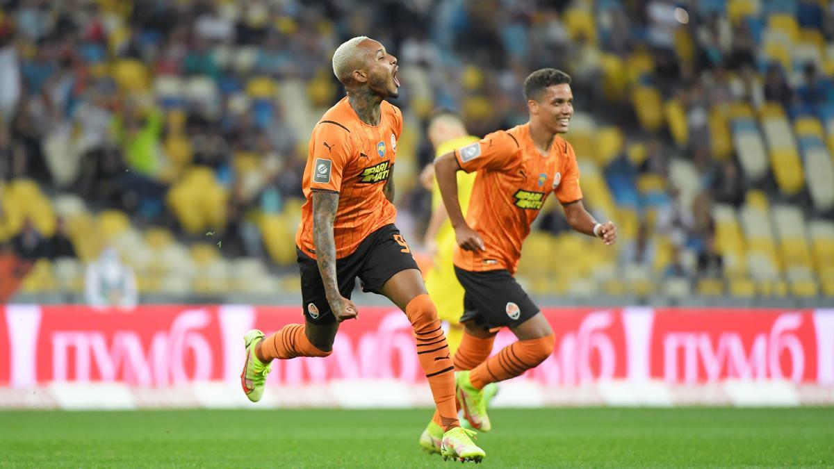 Фернандо відкрив рахунок у матчі / фото ФК Шахтар