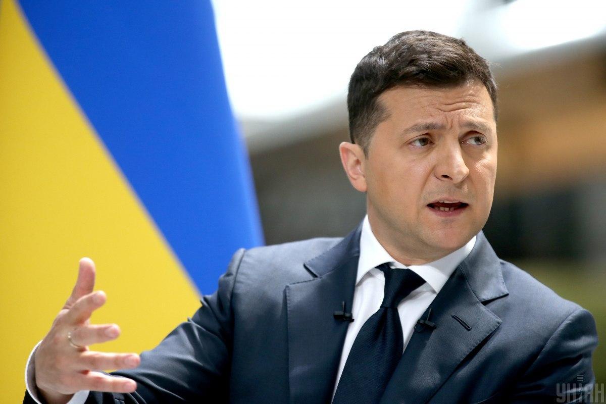 Владимир Зеленский поздравил танкистов с праздником / УНИАН