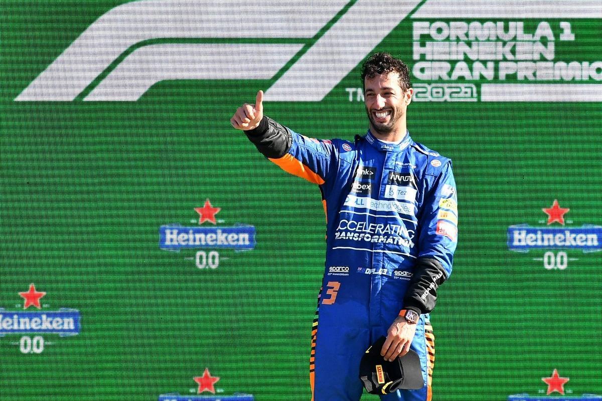 Даніель Ріккардо виграв Гран-прі Італії / фото REUTERS