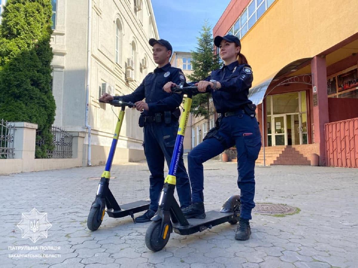 Патрулирование будут осуществляться только в светлое время суток / фото facebook.com/zakpolice