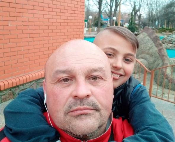 Игорь Теровец с сыном Павлом / фото facebook.com/Игорь Теровец