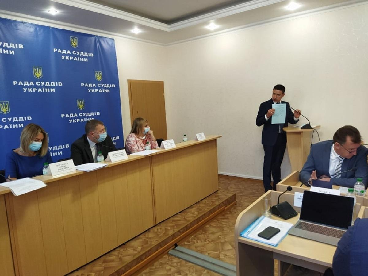 Рада суддів не змогла обрати трьох кандидатів до Етичної ради / фото facebook.com/judiciarypressoffice