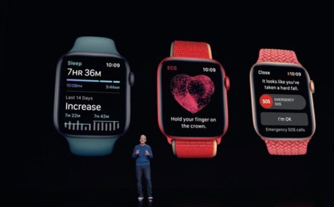 Презентація Apple Watch Series 7 / Скріншот з відео