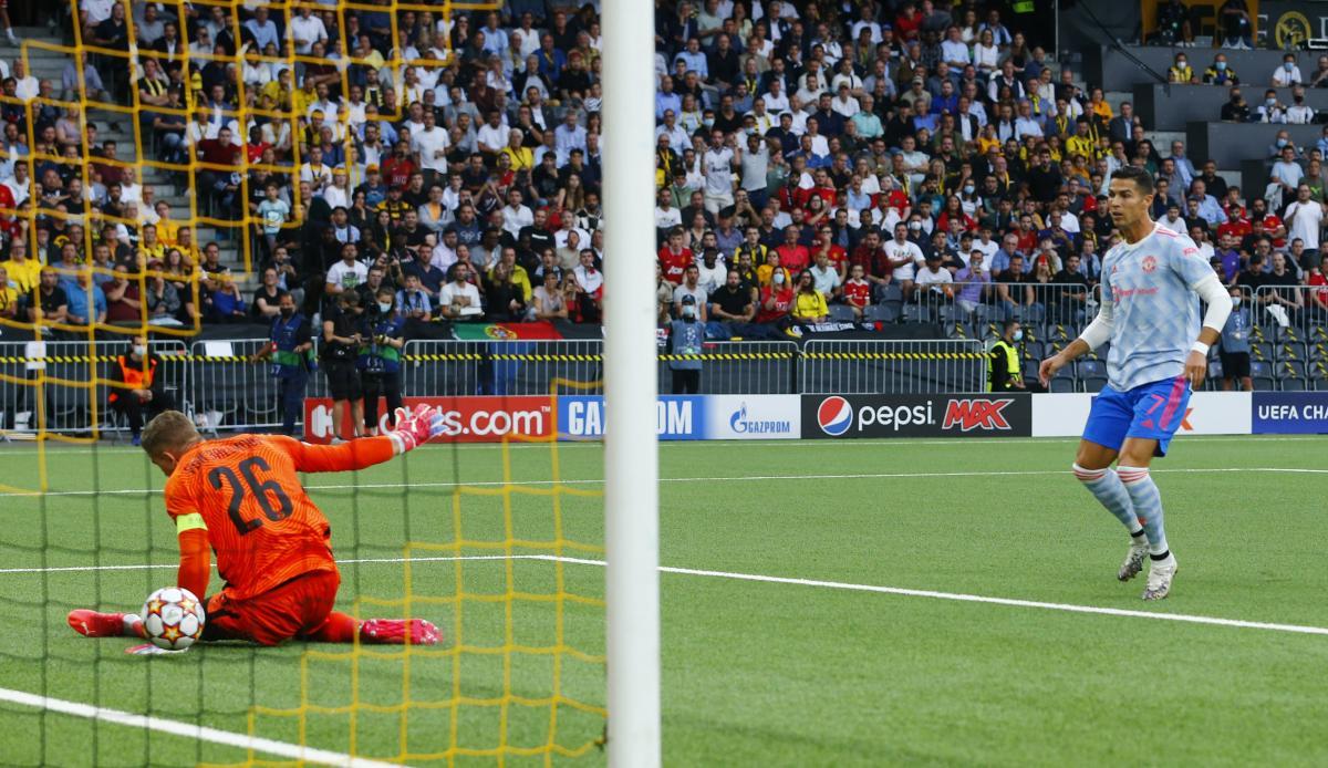 Кріштіану Роналду забив за МЮ / фото REUTERS