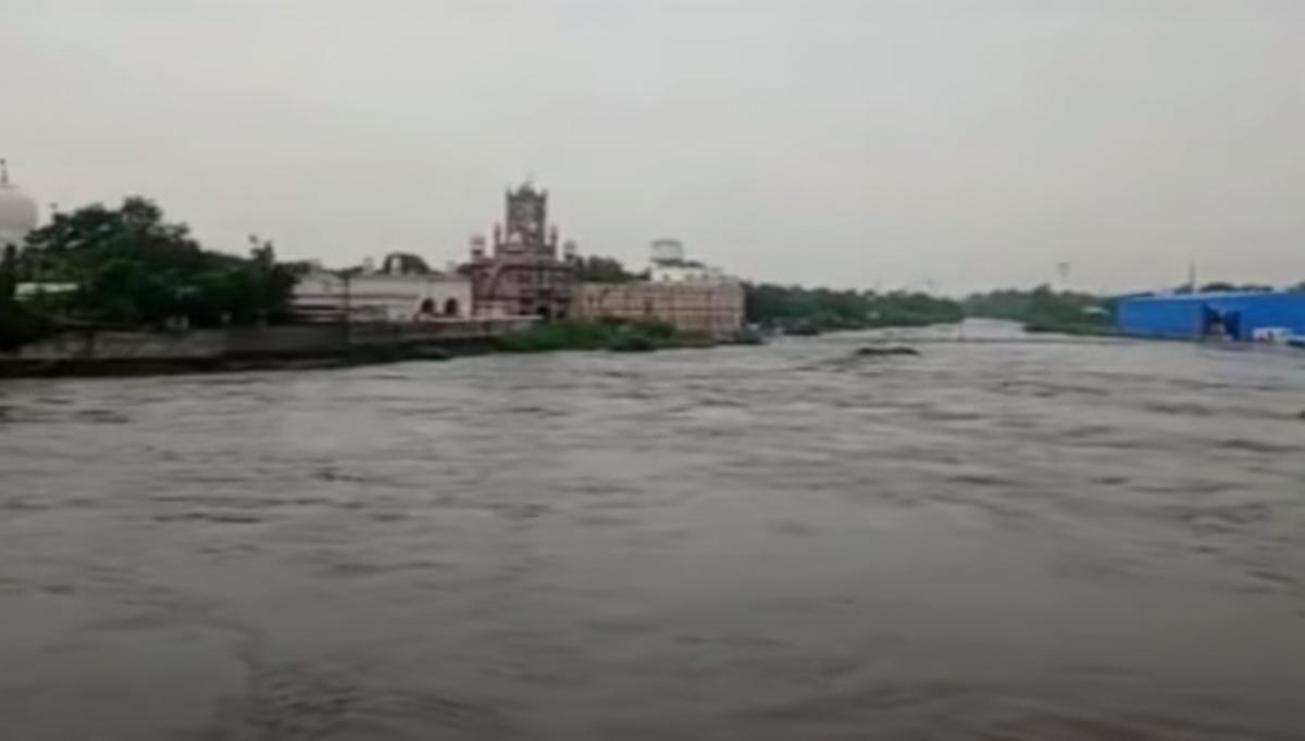 Один з індійських штатів затопило / скріншот з відео