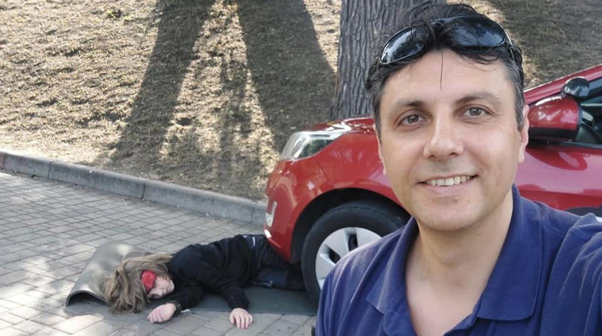 Алексей Кавлак погиб в результате взрыва в Днепре / фото с Facebook-страницы погибшего