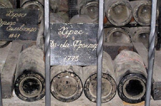 """В енотеці """"Масандри"""" на момент анексії Криму зберігалося 5 пляшок Херес-де-ла-Фронтера \ investigator.org.ua"""