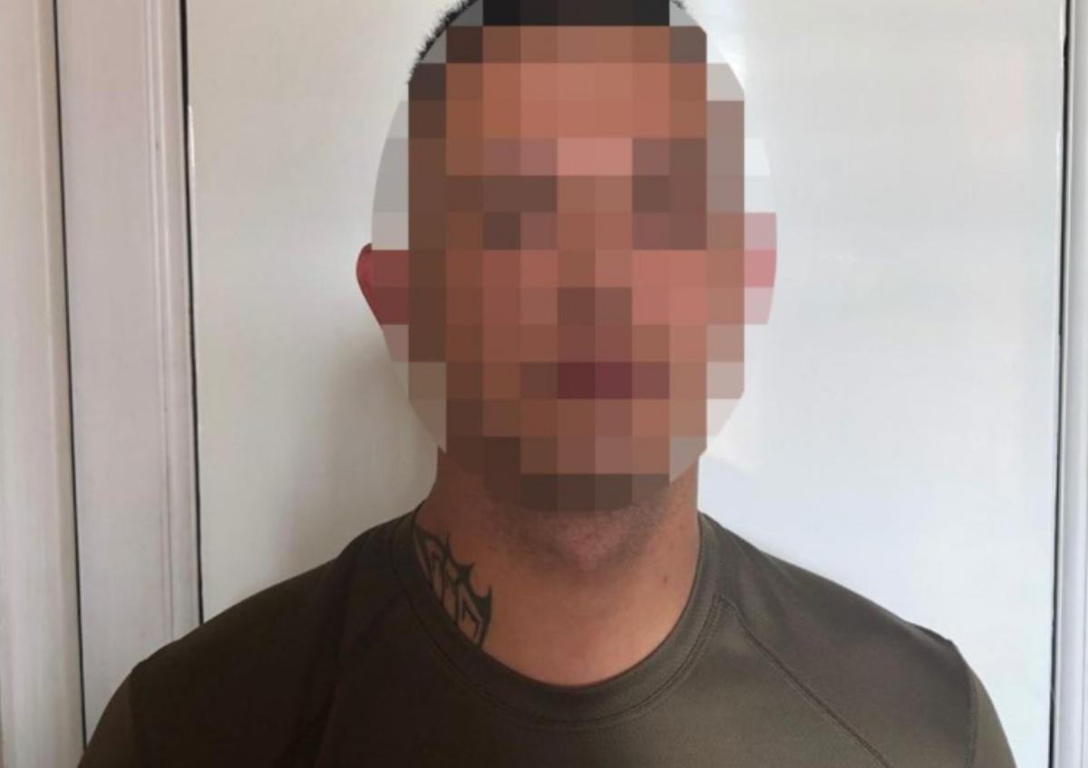 Нападником виявився житель Львова/ фото поліція