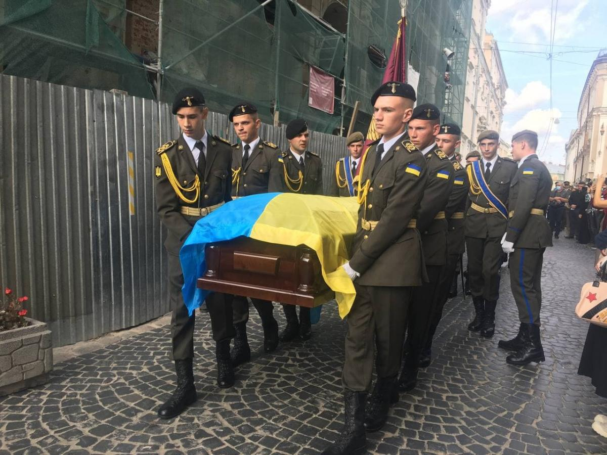 Маланич вместе с братом-близнецом защищал Украину на Донбассе / фото УНИАН Мирослава Бзикадзе