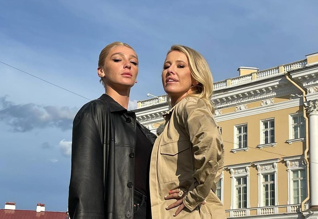 Собчак і Івлєєва поцілувалися прямо на сцені / instagram.com/xenia_sobchak