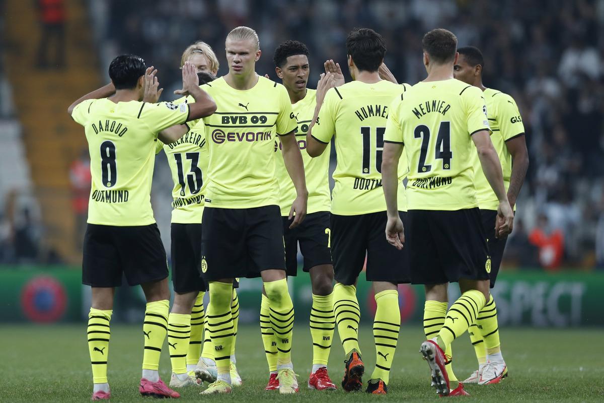 Дортмундская Боруссия победила на выезде Бешикташ / фото REUTERS