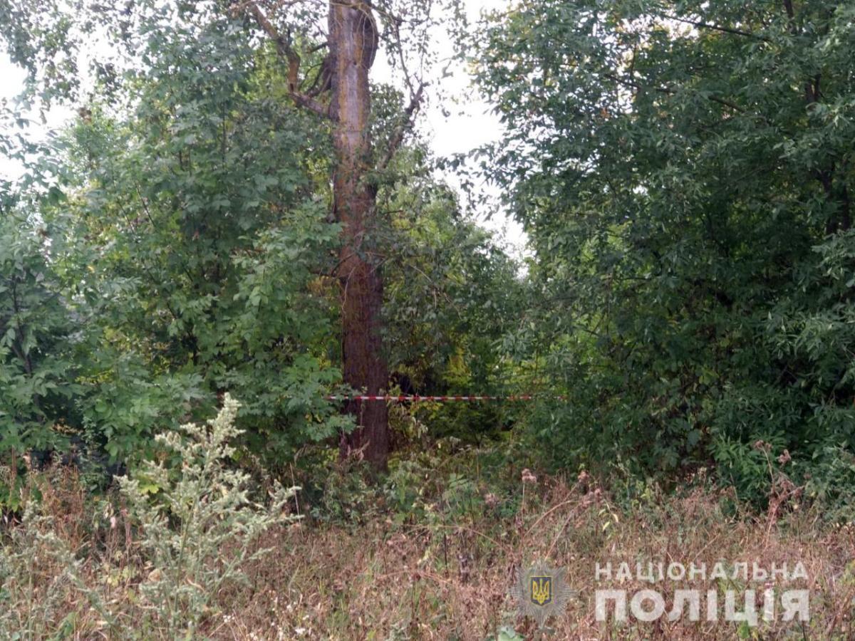Мужчина убил сына в лесополосе / фото su.npu.gov.ua