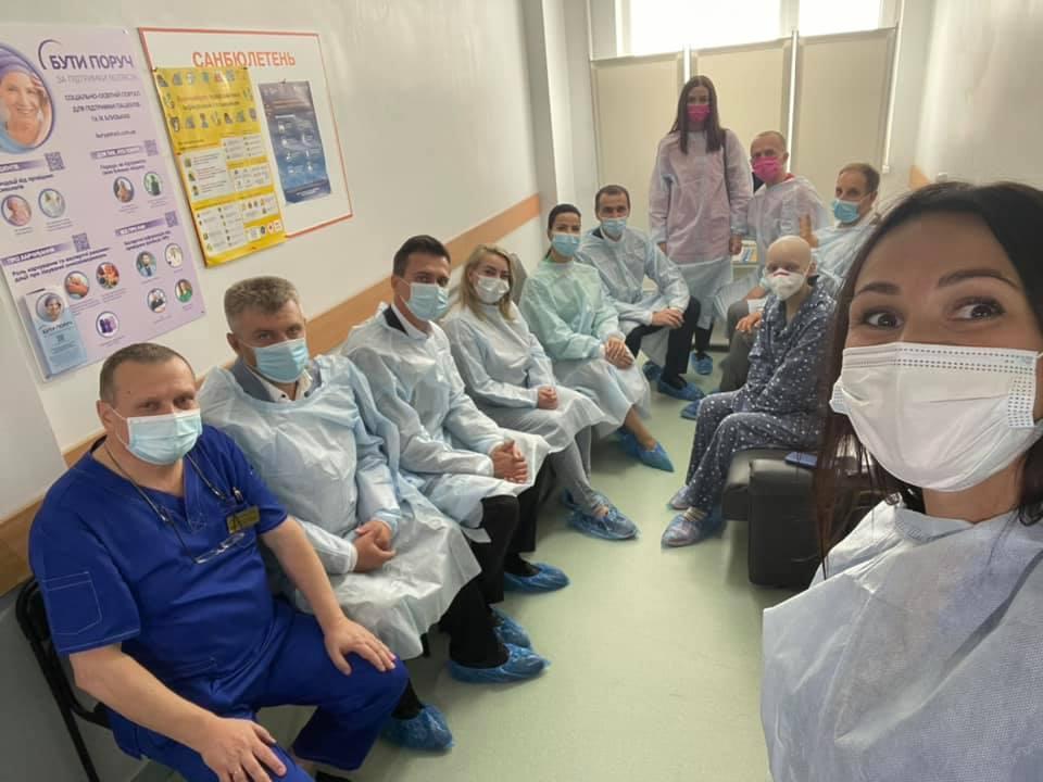 Операцию провели врачи Черкасского областного онкодиспансера \ Фейсбук Ирина Заславец