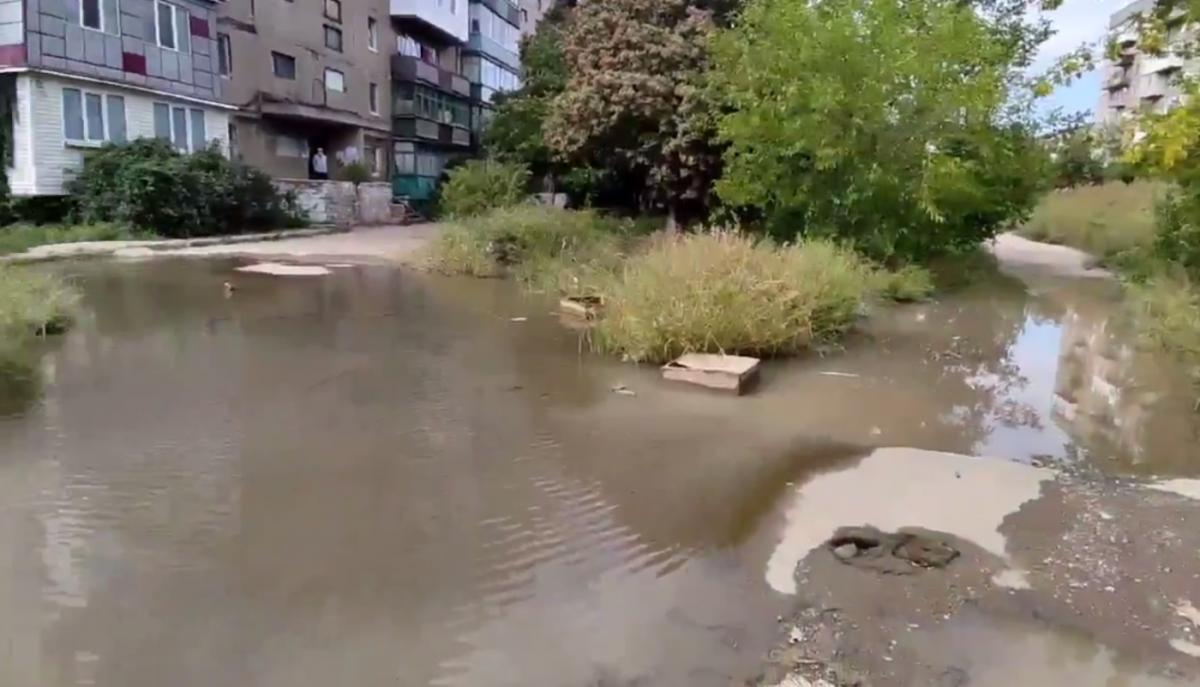 """Ситуацію у """"ДНР"""" показали на відео / скріншот"""