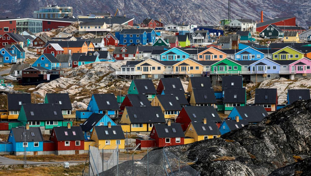 Місто Ілуліссата в Гренландії / фото REUTERS
