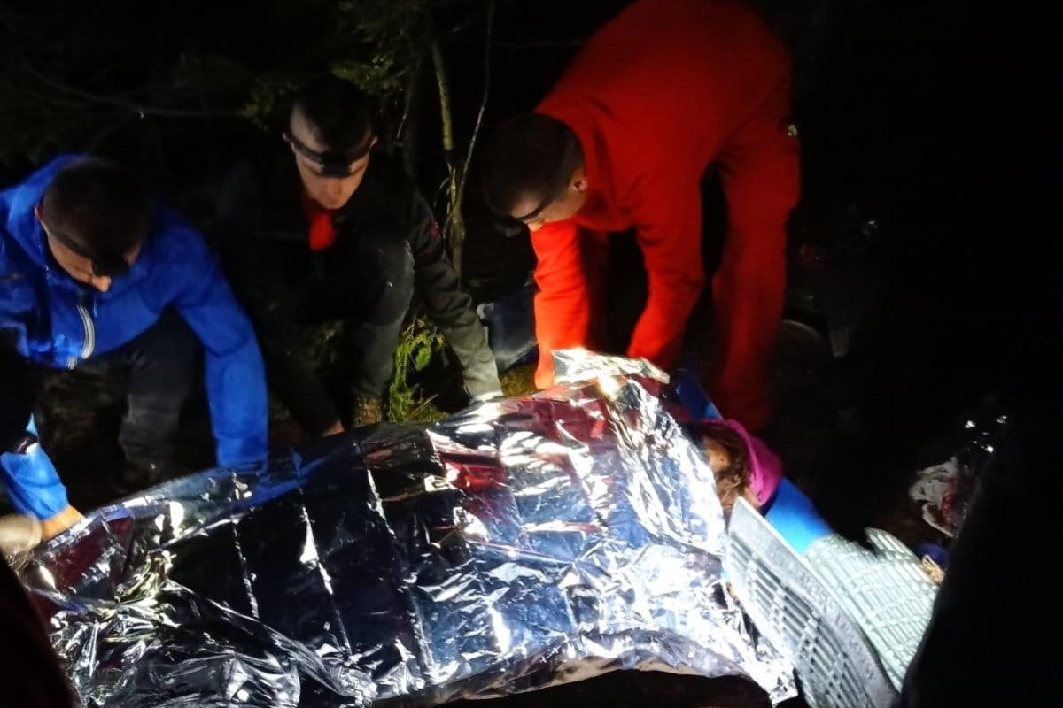 У результаті вибуху в Карпатах загинули дві особи, а п'ять – постраждали / фото ГУ ДСНС України в Івано-Франківській області