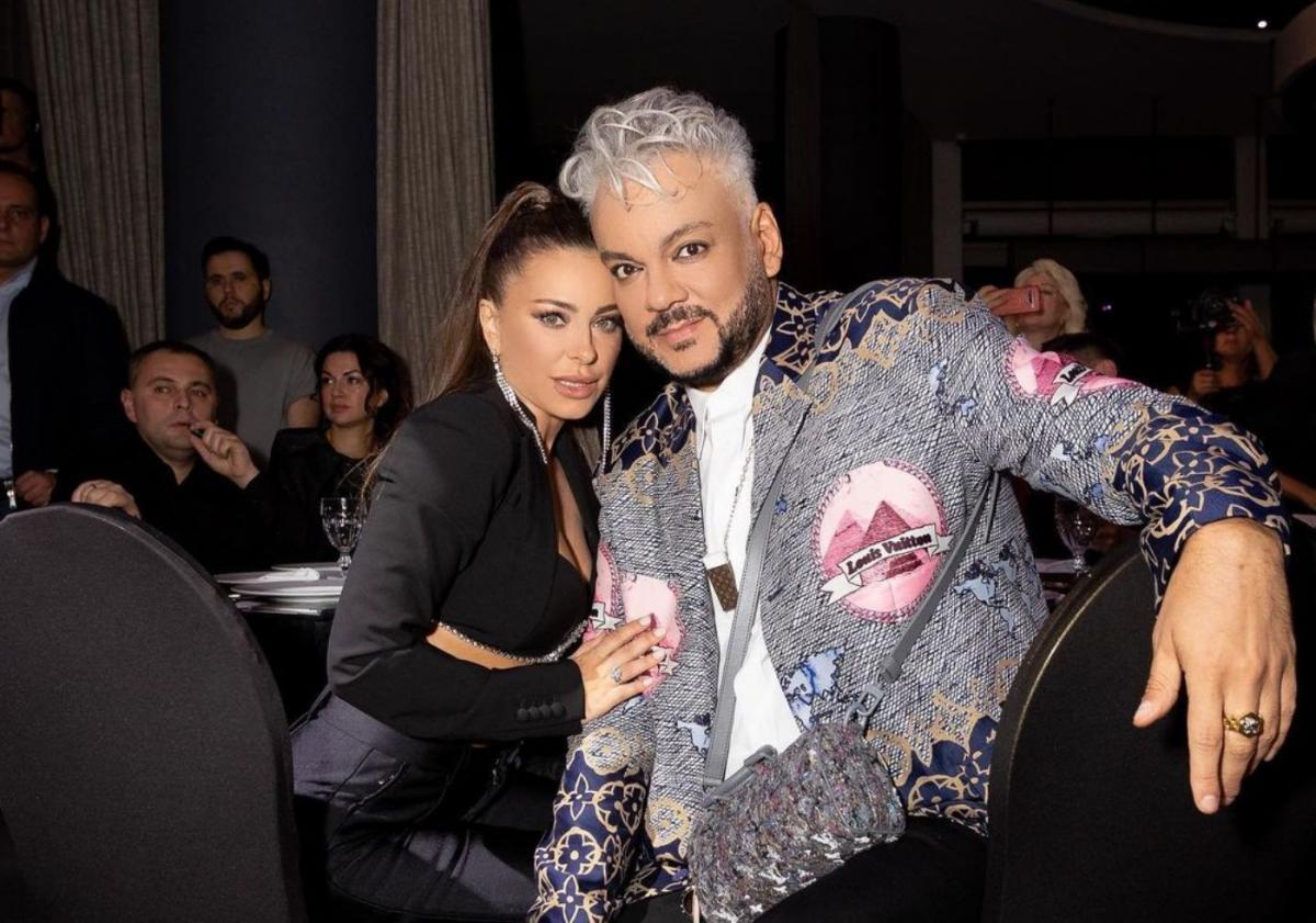 Ани Лорак обнималась с Филиппом Киркоровым / фото instagram.com/fkirkorov