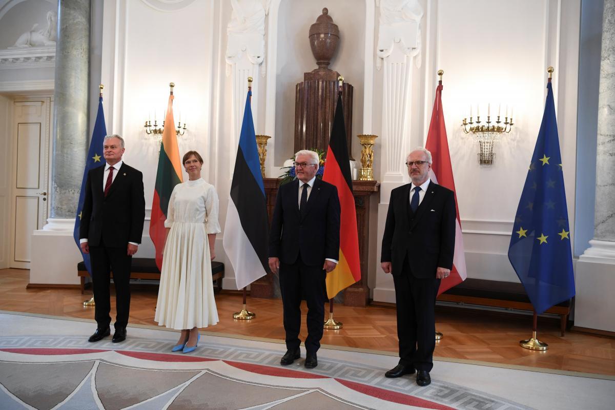 Штайнмайер встретился с президентами Эстонии, Латвии и Литвы / фото REUTERS