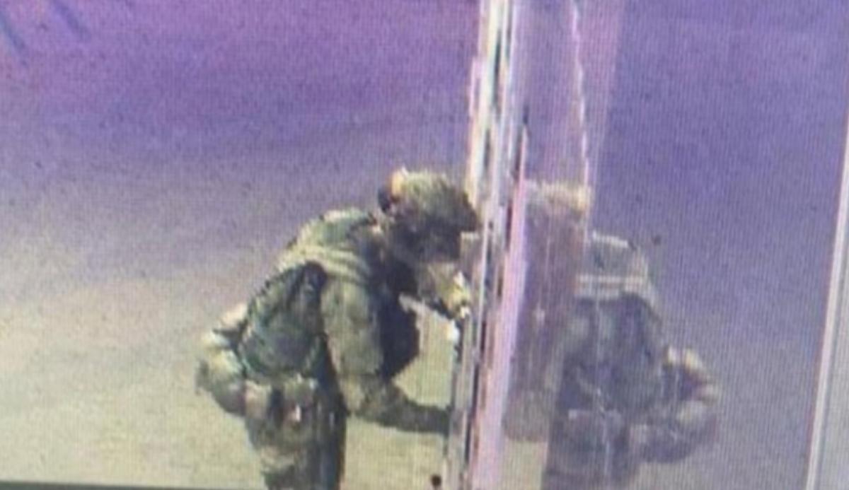 Чоловік в уніформі скоїв потрійне вбивство заради помсти / фото Телеграм-канал Baza
