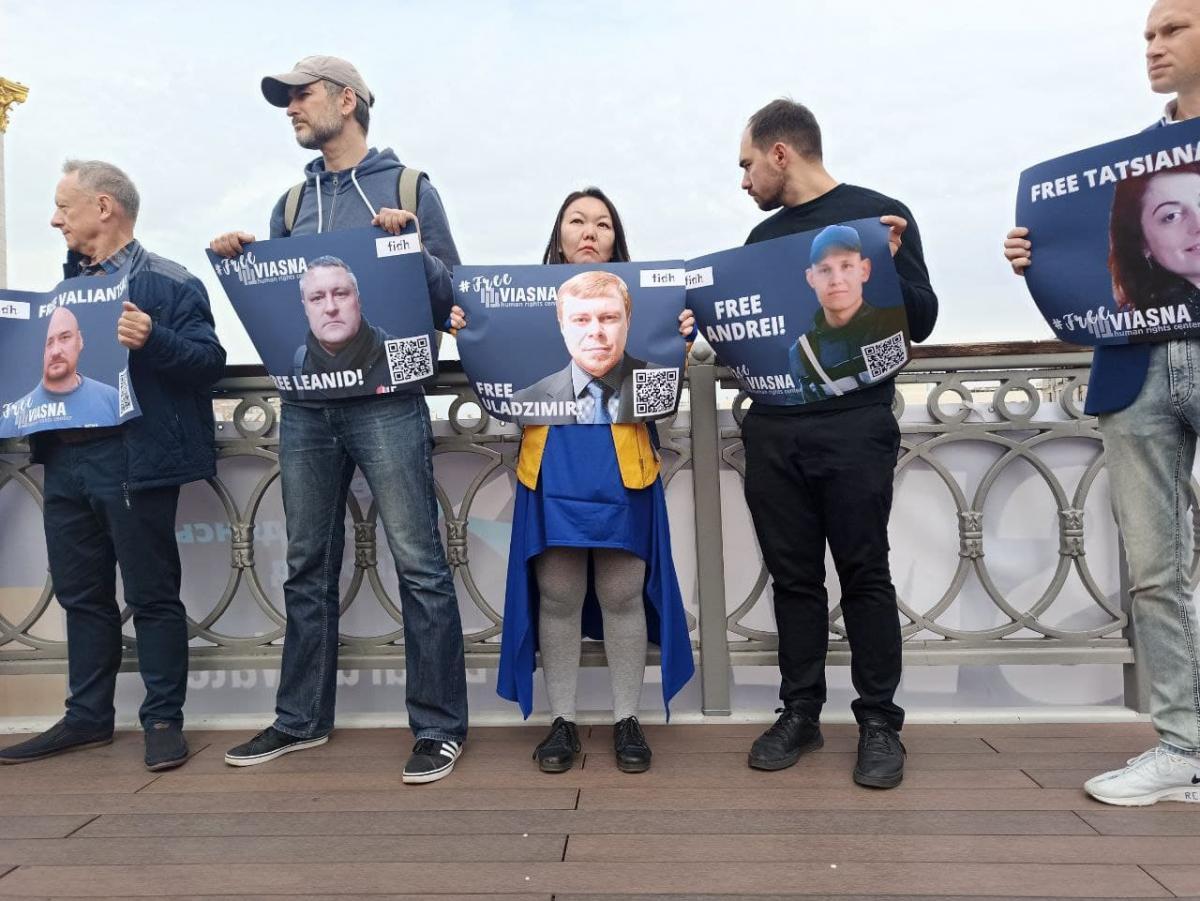 """Десятки членів """"Весни"""" були затримані / фото УНІАН/ Антоніна Доломанжи"""