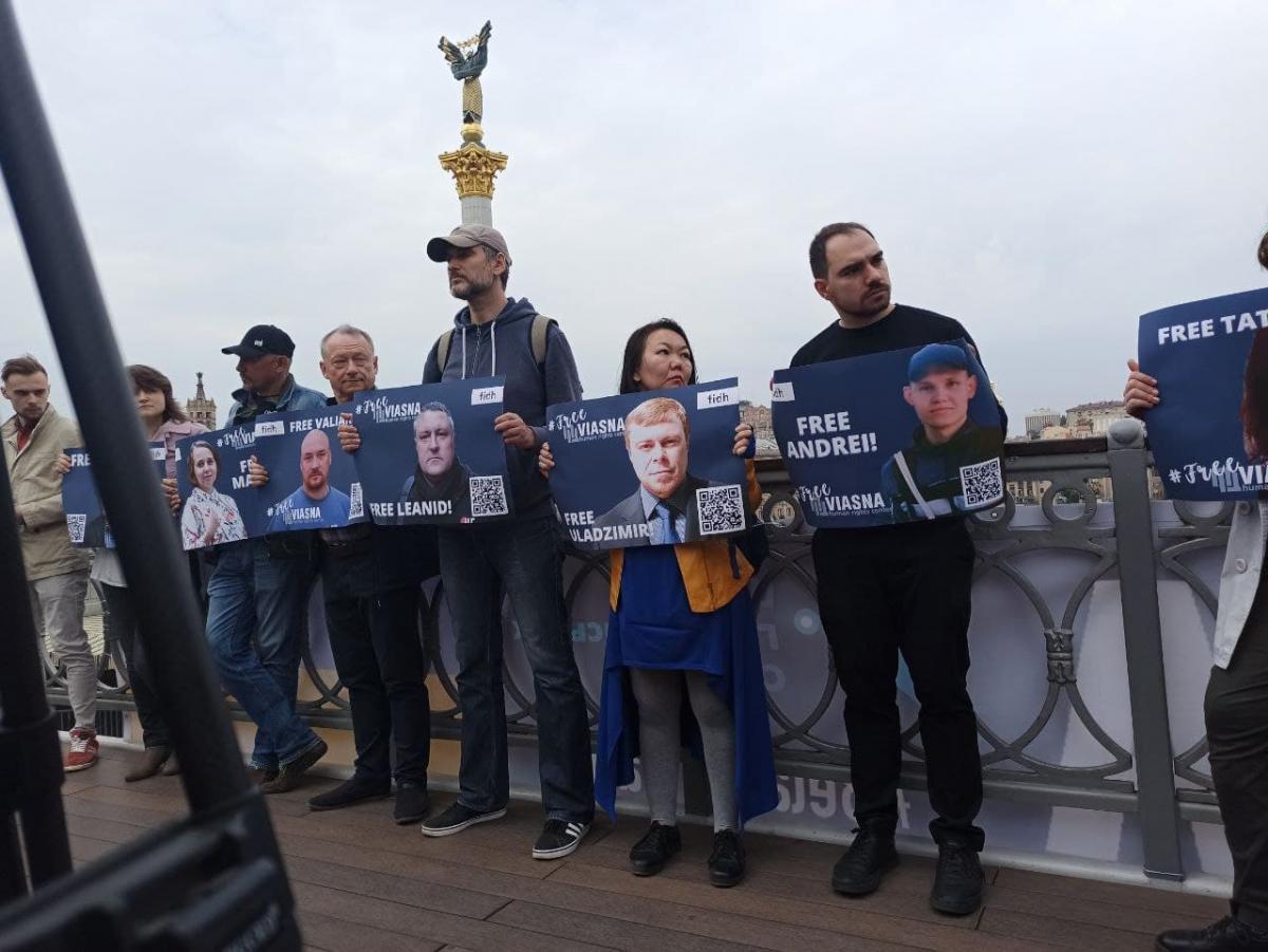 Семеро правозахисників досі залишаються за гратами/фото УНІАН/ Антоніна Доломанжи