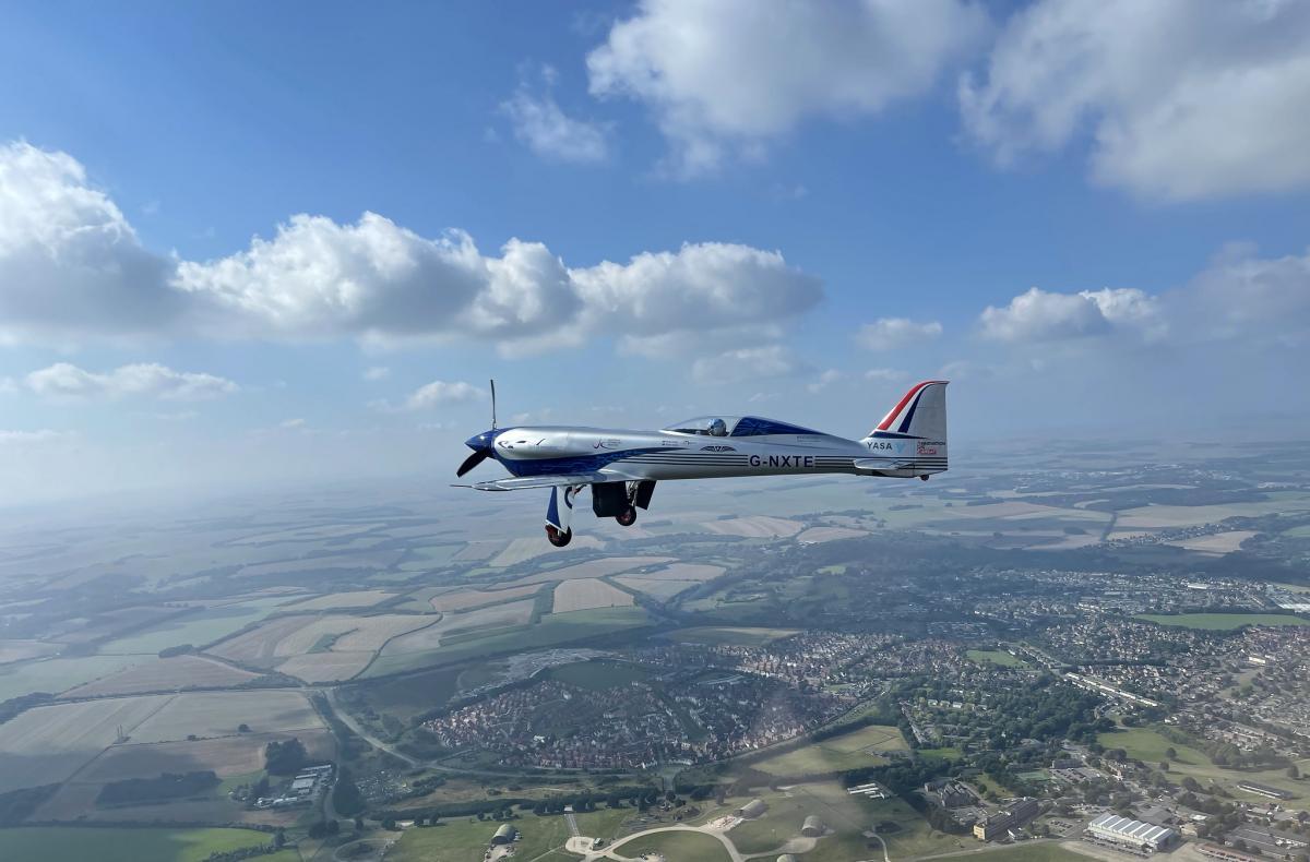 Електричний літак Spirit of Innovation здійснив перший успішний політ / фото Rolls-Royce