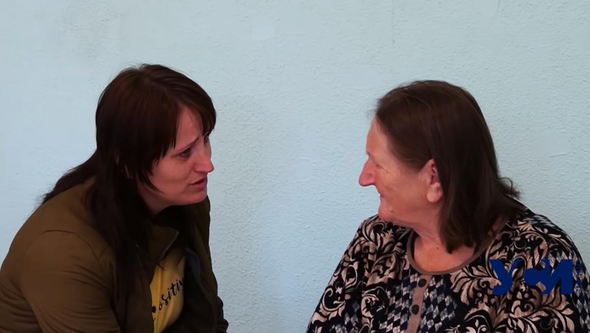 Зустріч дочки і мами / скріншот з відео
